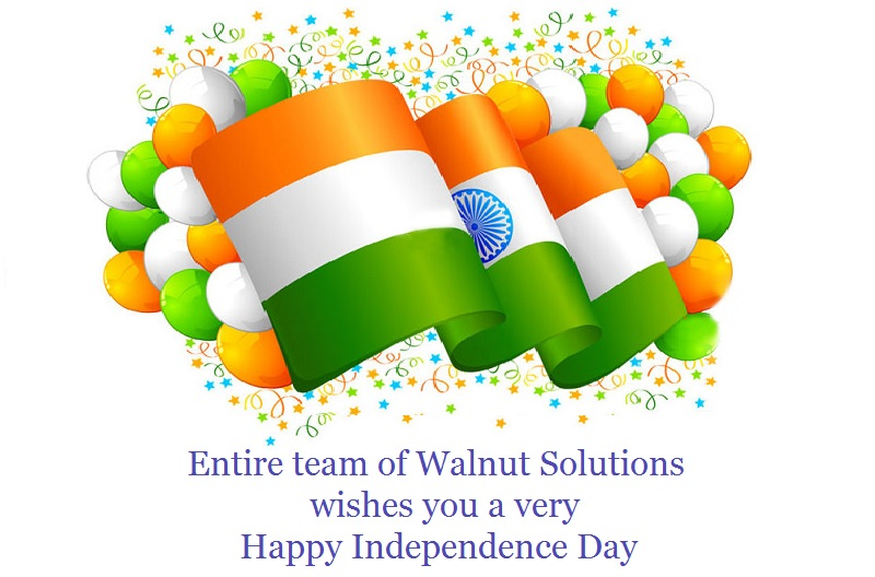 Walnut Solutions Wishes You Happy Independence Day